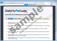 DailyHomeGuide Toolbar