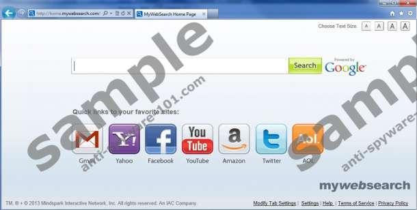 Cómo quitar Mywebsearch