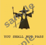 """You shall not pass"" virus"