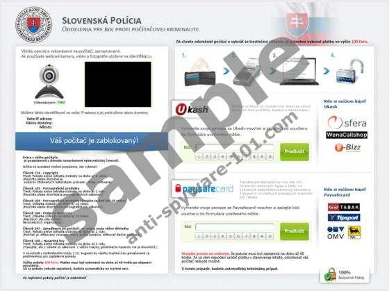 Slovenská Polícia Virus