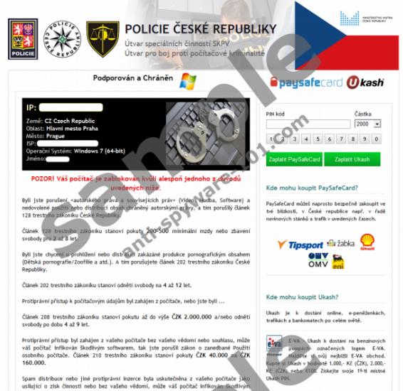 Policie České republiky Virus