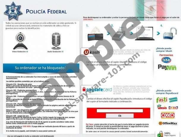 POLICÍA FEDERAL Virus