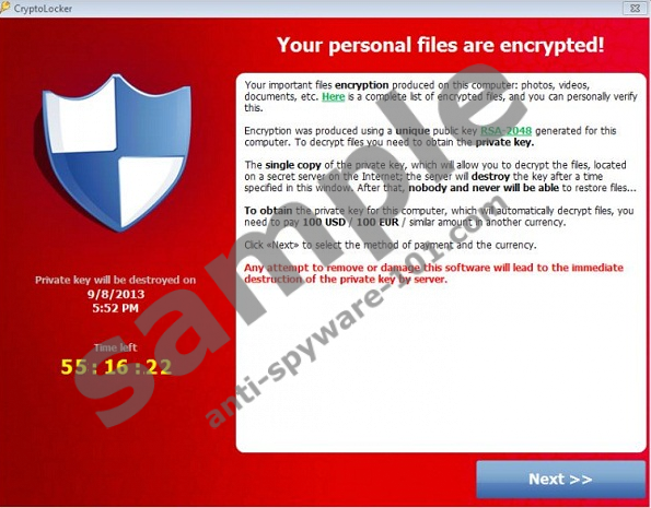 how to remove cryptolocker virus manually