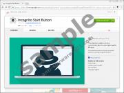 Incognito Start Button