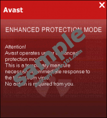 Avast Enhanced Protection Mode