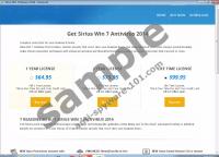 Sirius Win 7 Antispyware 2014